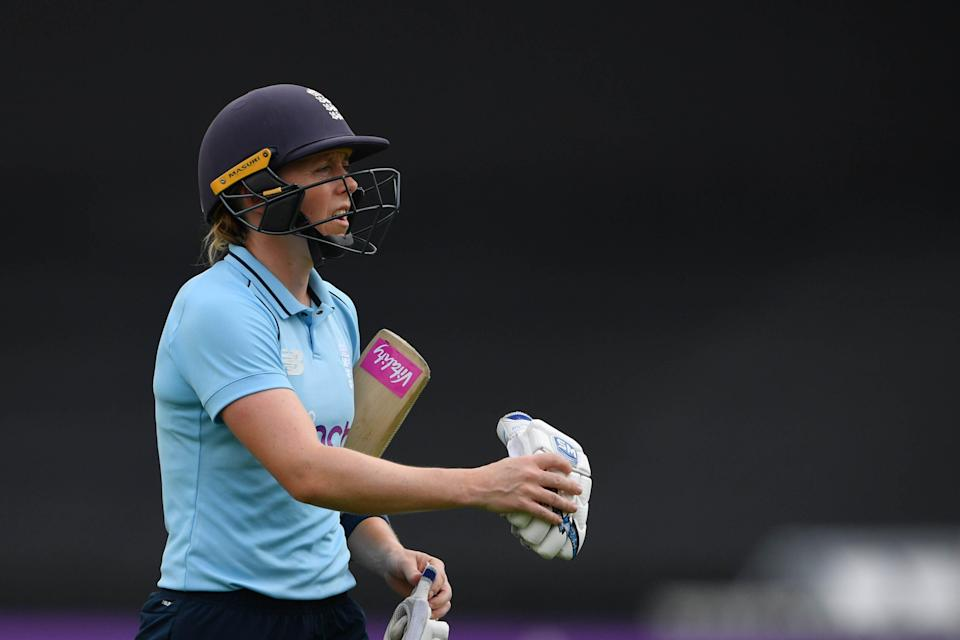 England captain Heather Knight was left 'frustrated' by her side's collapse (PA Wire)