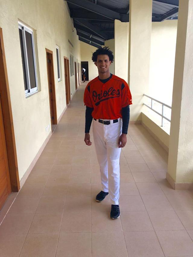 Orioles minor leaguer Miguel Gonzalez, 21, has died after a car accident. (Courtesy of the Baltimore Orioles)