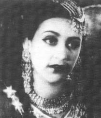 Born into a wealthy and aristocratic Muslim family, Naseem Banu's mother, Shamshad Begum, who was an actress herself, wanted her daughter to become a doctor. However, Naseem Banu had other plans. Much against her mother's wishes, Naseem Banu made her acting debut in Khoon Ka Khoon, the 1935 adaptation of Hamlet, directed by Sohrab Modi under the Minerva Movietone Banner. Banu was still in school then, and when the film released, her school made it clear that they disapproved of her acting. She then quit her studies, took up acting as a career and signed a contract with Sohrab Modi and Minerva Movietone. While she acted in films such as Khan Bahadur (1937), Talaq (1938) and Meetha Zahar (1938). It was Pukar (1939) which proved to be her launch pad. The film took a year to be made and required her to learn how to ride horses. It also gave her the sobriquet Beauty Queen and Pari Chehra. Over the years, Banu worked with other film banners before entering into production when she set up Taj Mahal Pictures with her husband, Mohammad Ehsan. After retiring from acting, Nassem Banu continued to produce films and also eventually became the costume designer for her daughter, the lovely Saira Banu.