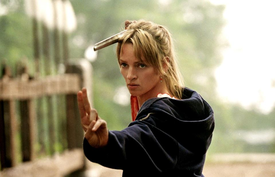 """<p>Arguably the best film in the <strong>Kill Bill</strong> franchise, <strong>Kill Bill Volume 2</strong> sees <a class=""""link rapid-noclick-resp"""" href=""""https://www.popsugar.com/Uma-Thurman"""" rel=""""nofollow noopener"""" target=""""_blank"""" data-ylk=""""slk:Uma Thurman"""">Uma Thurman</a>'s character, The Bride, pick up where she left off in Volume 1, on her quest to complete her hit list. </p> <p>Watch <a href=""""https://play.hbomax.com/page/urn:hbo:page:GX7hXuQrRf4IDjgEAAADt:type:feature?utm_id=sa%7c71700000067030777%7c58700005868654303%7cp53631644808&amp;gclid=Cj0KCQiA4L2BBhCvARIsAO0SBdZ8t-eFTkt-98KdC-ZZjcTzYkdy_UCxZVQQQkjEq3_rF9ev3AKncMsaAr4YEALw_wcB&amp;gclsrc=aw.ds"""" class=""""link rapid-noclick-resp"""" rel=""""nofollow noopener"""" target=""""_blank"""" data-ylk=""""slk:Kill Bill: Vol. 2""""><strong>Kill Bill: Vol. 2</strong></a> on HBO Max now.</p>"""
