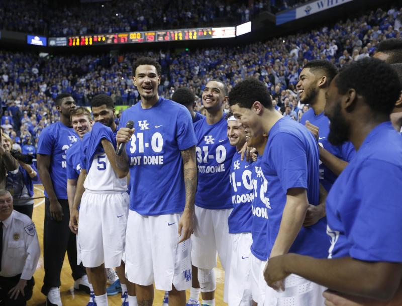 Kentucky's Undefeated Regular Season Is Good For College Hoops