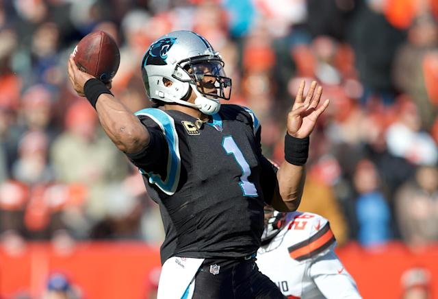 Cam Newton will hope to keep Carolina's fading playoff hopes alive with an upset win