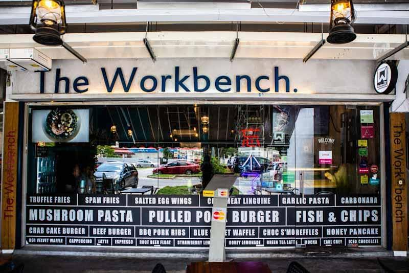 Exterior of The Workbench Bistro