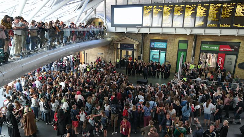 Harry Potter fans asked to avoid station celebration in favour of digital event