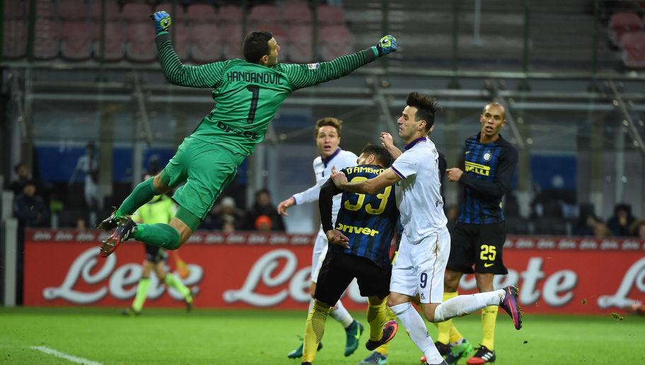 <p>It's not easy picking the number one between capable veterans like Pepe Reina and Samir Handanovic, but the latter gets the nod.</p> <br /><p>Although Reina has had an impressive career, Handanovic's performances in the last few seasons have been somewhat remarkable, and he's become known as one of the best in the world. </p> <br /><p>Inter may have shipped 13 goals in their last five games, but it could've been worse without the Slovenian two-time Serie A Goalkeeper of the Year between the sticks.</p>