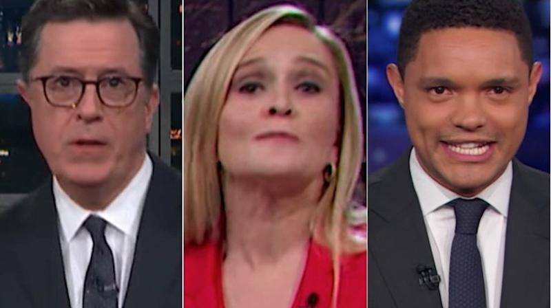 Late-Night TV Hosts Go To Town On Jeff Sessions Resignation News