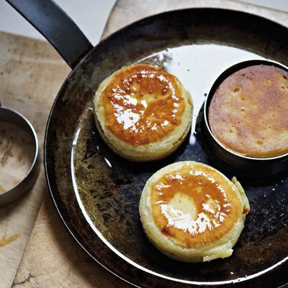 Mark sergeant 39 s home made crumpets with marmite and for Homemade marmite recipe