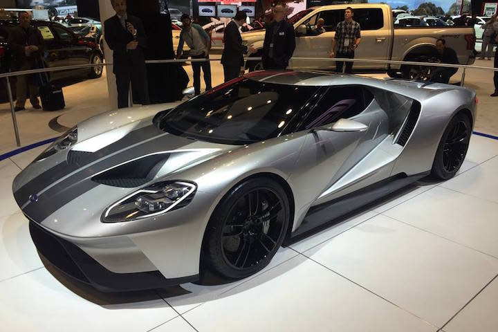 ford gt silver photo