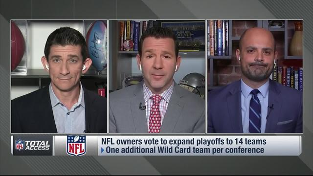 NFL Network Insider Ian Rapoport explains the NFL's new expanded playoff format.