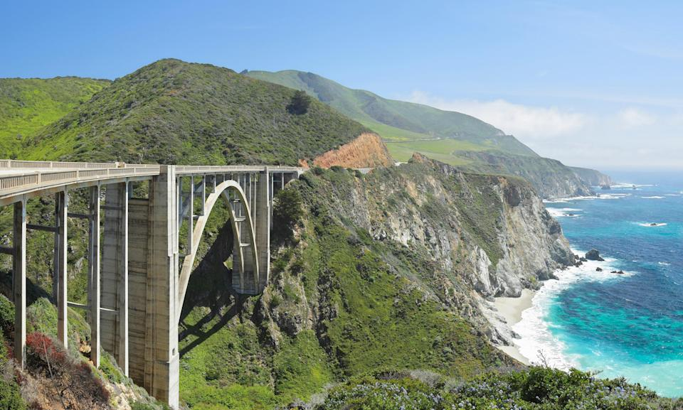"<p><strong>Best thing to do in California:</strong> Drive the Pacific Coast Highway</p> <p>We'd argue that no <a href=""https://www.cntraveler.com/galleries/2015-04-27/six-iconic-american-road-trips-to-take-this-summer?mbid=synd_yahoo_rss"" rel=""nofollow noopener"" target=""_blank"" data-ylk=""slk:American road trip"" class=""link rapid-noclick-resp"">American road trip</a> is as iconic as taking Highway 1 south from <a href=""https://www.cntraveler.com/destinations/san-francisco?mbid=synd_yahoo_rss"" rel=""nofollow noopener"" target=""_blank"" data-ylk=""slk:San Francisco"" class=""link rapid-noclick-resp"">San Francisco</a> along California's coast. A drive along the Pacific Coast Highway feels like a Springsteen song come to life—expect to see weekenders at the wheel of rented Ford Mustangs, accelerating out of hairpin curves like a runaway American dream. Throughout the nearly 500-mile-drive south to Los Angeles, the views rarely disappoint, especially if you take the 17-Mile Drive detour at Carmel, Bixby Bridge, and Big Sur.</p>"