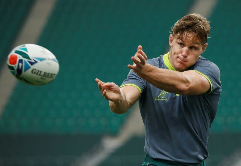 FILE PHOTO: Rugby World Cup - Australia Captain's Run