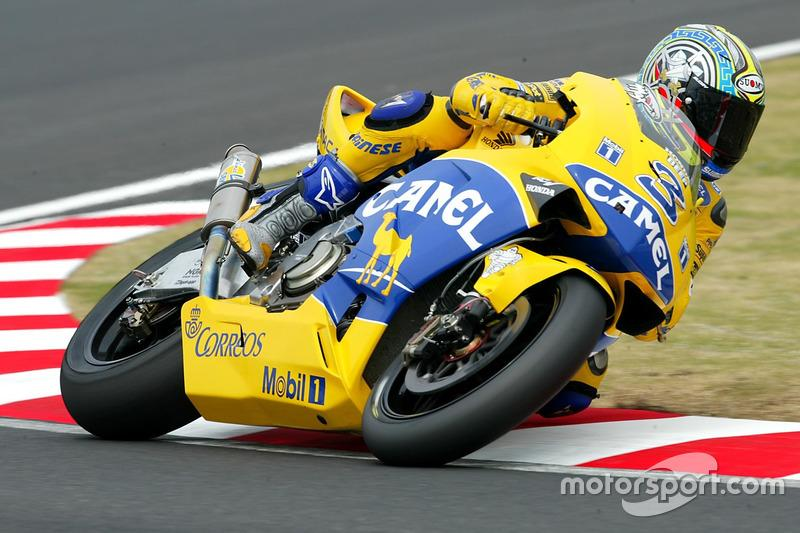 "2003: Max Biaggi<span class=""copyright"">Gold and Goose / Motorsport Images</span>"