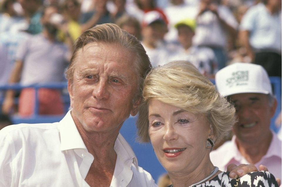 <p>Douglas and Buydens attend the U.S. Open in Flushing Meadows, Queens. </p>