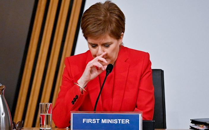 Nicola Sturgeon Appears At Inquiry Into Scottish Government's Handling Of Complaints Against Former First Minister - Jeff J Mitchell/Getty Images Europe