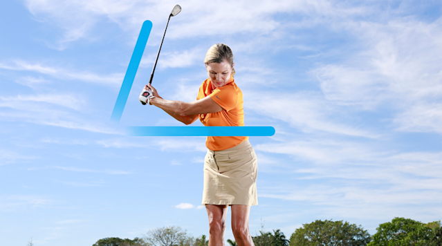Your new knockdown backswing.