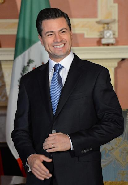President-elect of Mexico Enrique Pena Nieto visits Rideau Hall in Ottawa on Wednesday Nov. 28, 2012. (AP Photo/The Canadian Press, Sean Kilpatrick)
