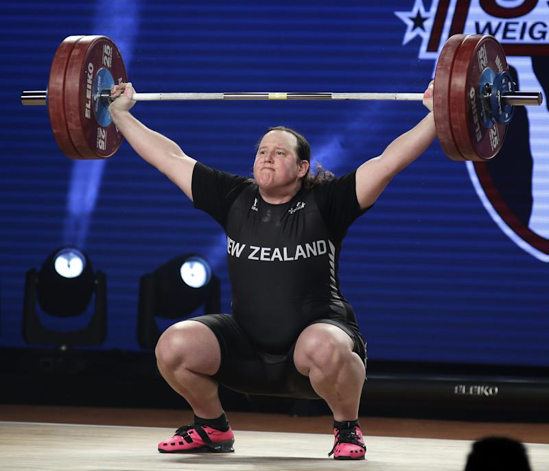 New Zealand transgender lifter bids for world championship gold