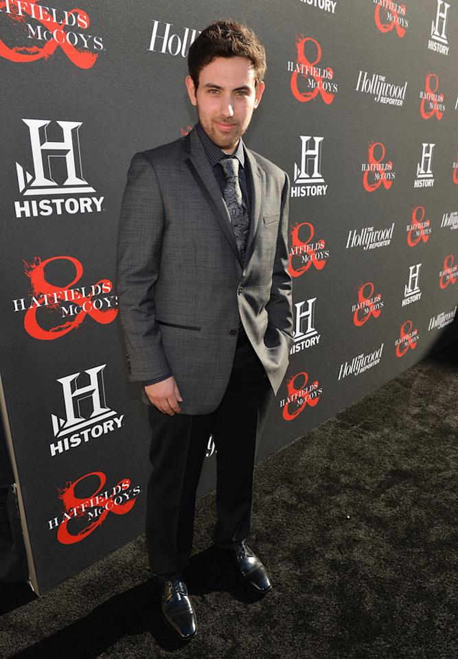 "Jon Bloch attends a special screening of ""Hatfields & McCoys"" hosted by The History Channel at Milk Studios on May 21, 2012 in Hollywood, California."