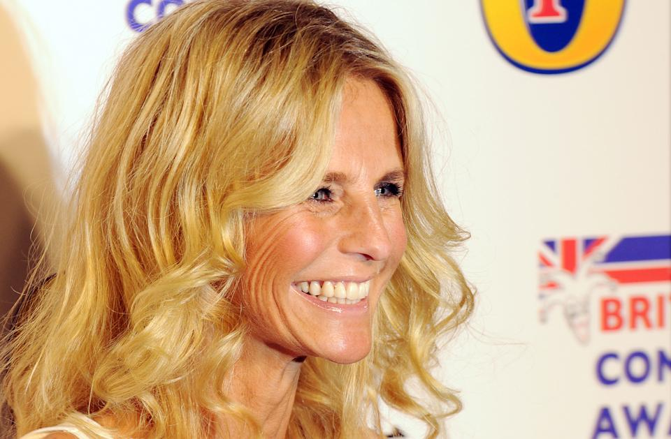 LONDON, UNITED KINGDOM - DECEMBER 16: Ulrika Jonsson attends British Comedy Awards at Fountain Studios on December 16, 2011 in London, England. (Photo by Eamonn McCormack/WireImage)