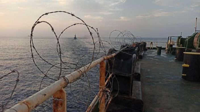 The Iranian-owned Sabiti oil tanker is seen sailing in the Red Sea, October 11, 2019. Picture taken October 11, 2019. National Iranian Oil Tanker Company via WANA (West Asia News Agency) via REUTERS.
