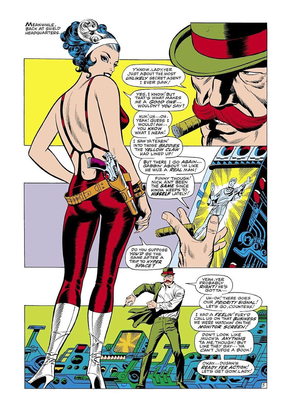 Contessa Valentina Allegra de Fontaine in Marvel comics