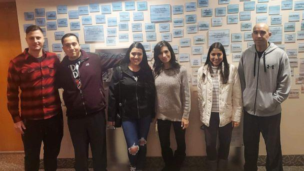 PHOTO: Pictured from left to right are Miles Compton, Daniel Quintero, Itzel Diaz, Sandra Ponce, Jessica Lugo and Salvador Ponce. (Courtesy Sandra Ponce)