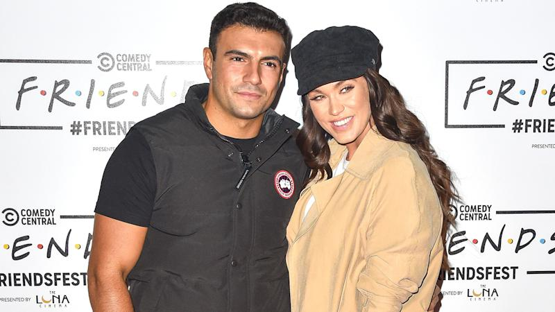 Vicky Pattison and current boyfriend, Ercan Ramadan, attend FriendsFest 2019