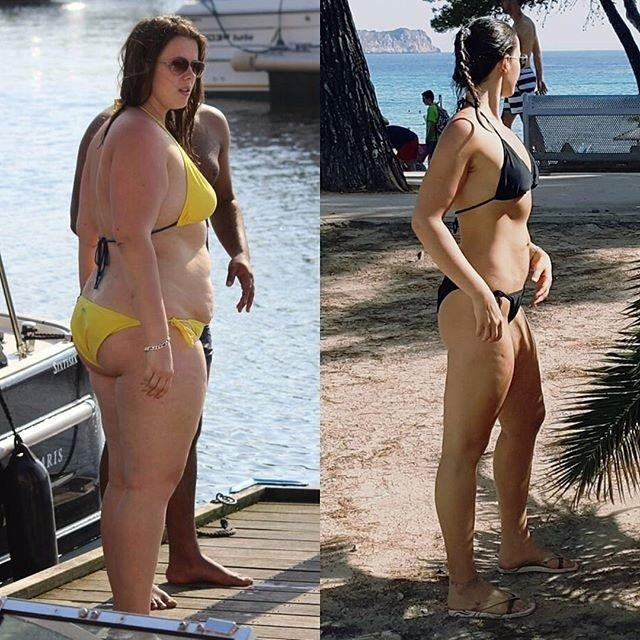 This Model Says She Owes Her 110-Pound Weight Loss to These 2 Things