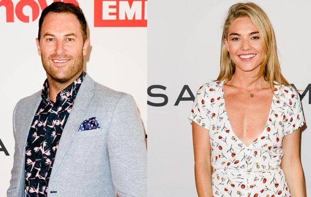 Sam Frost and her ex Sasha were both seen at Sam Smith's Red Room last night. Source: Nova