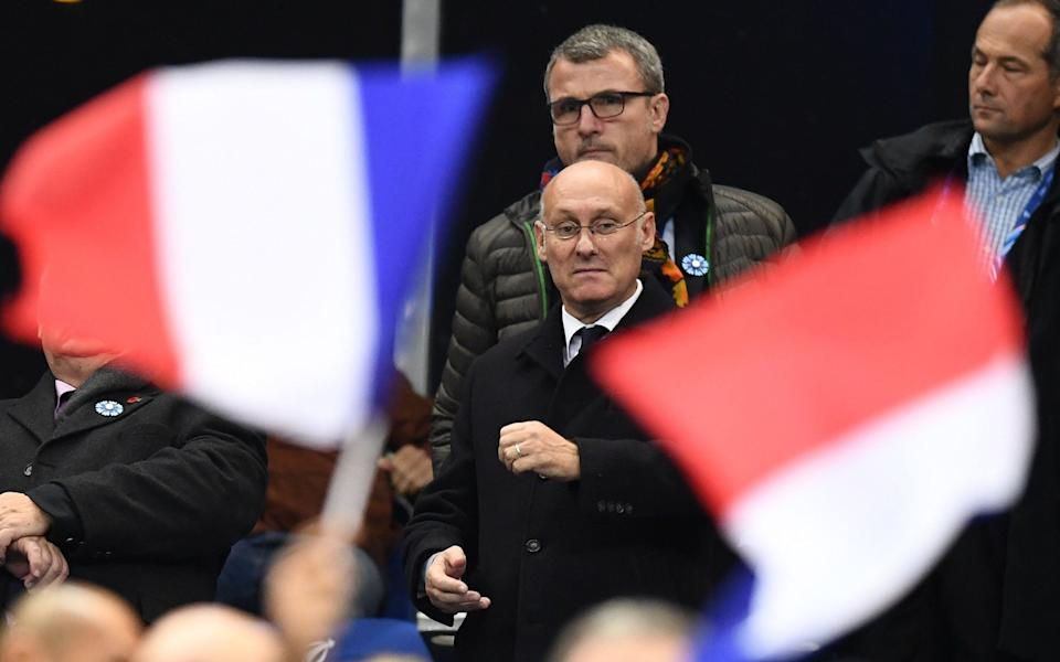 President of French rugby, Bernard Laporte, feels there is an air of positivity and possibility for the future now - AFP