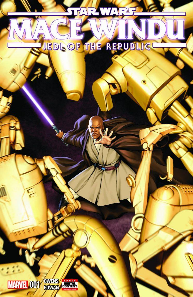 Star Wars Mace Windu Marvel Comics