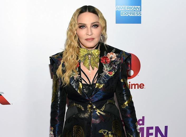 Madonna attends the Billboard Women in Music honors in 2016. (Photo: Evan Agostini/Invision/AP)