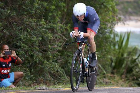 2016 Rio Olympics - Cycling Road - Final - Men's Individual Time Trial - Pontal - Rio de Janeiro, Brazil - 10/08/2016. Chris Froome (GBR) of United Kingdom competes. REUTERS/Paul Hanna Picture Supplied by Action Images