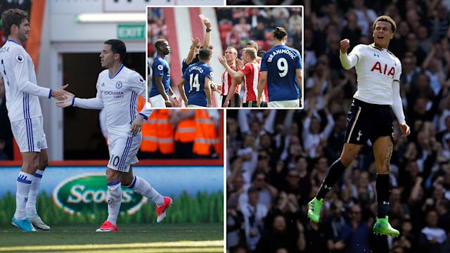It has been another crazy weekend in the Premier League at the top and bottom of the table.