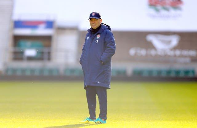 Eddie Jones had to have an isolation period after Proudfoot contracted coronavirus (Adam Davy/PA)