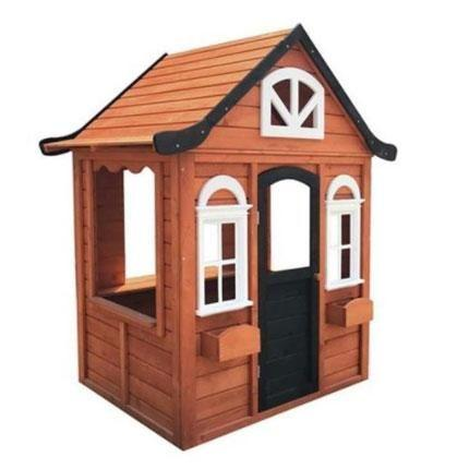 Parents are also hacking this $200 wooden cubby house. Photo: Kmart