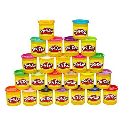 """<p><strong><em>Play-Doh 24-Pack</em></strong><strong><em>, $20</em></strong> <a class=""""link rapid-noclick-resp"""" href=""""https://www.amazon.com/gp/product/B009CAPYR8/?tag=syn-yahoo-20&ascsubtag=%5Bartid%7C10050.g.35033504%5Bsrc%7Cyahoo-us"""" rel=""""nofollow noopener"""" target=""""_blank"""" data-ylk=""""slk:BUY NOW"""">BUY NOW</a></p><p>Created in the 1930s by Noah McVicker, Play-Doh was initially used to clean coal residue from wallpaper. Following World War II, the market for wallpaper cleaning putty began to decrease. McVicker's nephew Joe was the brother-in-law of a nursery school teacher who had seen an article about making art projects with the wallpaper cleaning putty, and when her students thoroughly enjoyed playing with the doughy substance, she persuaded Joe to manufacture it as a child's toy.</p><p><strong>More:</strong> <a href=""""https://www.bestproducts.com/parenting/kids/g1382/best-play-doh-sets/"""" rel=""""nofollow noopener"""" target=""""_blank"""" data-ylk=""""slk:Play-Doh Sets We Still Want to Play With"""" class=""""link rapid-noclick-resp"""">Play-Doh Sets We Still Want to Play With</a></p>"""