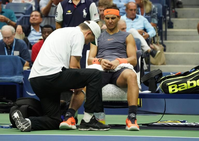 Rafael Nadal will miss Spain's Davis Cup semi-final after his injury troubles resurfaced in New York
