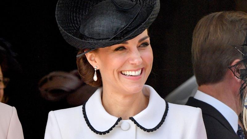 Kate Middleton's Latest Ensemble Takes a Page From Princess Diana's Book -- See the Pics!