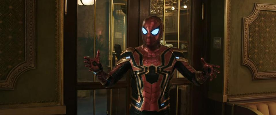Peter checks off the final thing on his list (credit: Sony Pictures)
