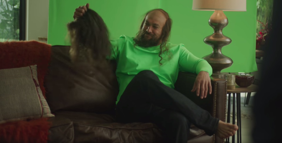 Behind The Scenes with Jason Momoa, from Rocket Mortgage by Quicken Loans. (YouTube/Rocket Mortgage)