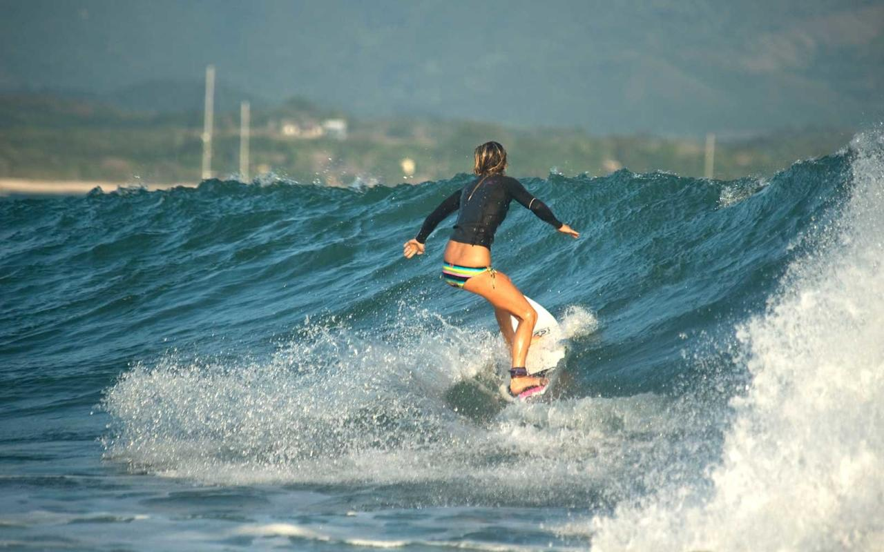"<p>For the first time, the <a href=""http://www.wpuntademita.com/"" target=""_blank"">W Punta de Mita</a> marks International Women's Day (March 8) with free surfing lessons for all female guests. Three-hour lessons include surf boards and an experienced instructor with a maximum of four students at a time. Rash guards and wet suits are available to rent, but probably aren't necessary, as the average water temperature in March is 77 degrees. A set of photos captured on a GoPro is included.</p>"