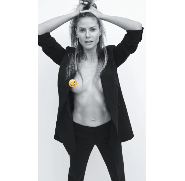 Heidi Klum bares it all (in more ways than one) in new photo shoot