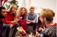 <p>Who doesn't love a game of charades? Have everyone write down some of their favorite holiday characters and take turns selecting one to act out. Let's see who can pull off The Grinch or embody Frosty the Snowman. </p>