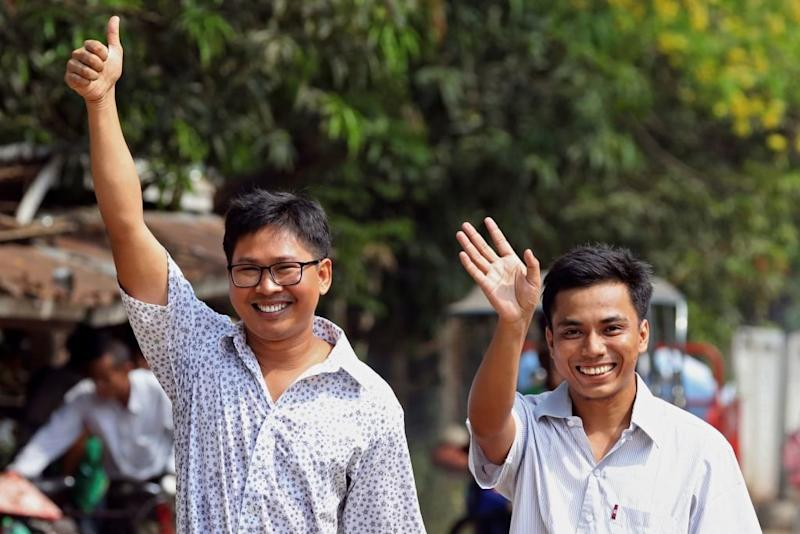 The Release of Reuters Journalists in Myanmar Is a Victory for Press Freedom. But the War on Truth Isn't Over