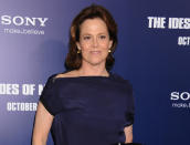 """<b>Sigourney Weaver (Dana Barrett)</b> <br><br> Dubbed quite rightly 'The Sci-Fi Queen' for her roles in the 'Alien' series and more recently 'Avatar', Weaver is far more than just some genre actress. Oscar-nominated three times, the 60-year-old actress (yes, really) has starred in a number of dramas, including 'Gorillas in the Mist' and 'The Ice Storm'. While playing the straight role of sorts in 'Ghostbusters' and 'Working Girl', she was a hoot in 'Galaxy Quest' and 'Heartbreakers'. She reprised the role of Dana Barrett in 'Ghostbusters II', alongside most of the original cast, and recently expressed her hope for a third outing. <br><br>[<b>See more</b>: <em><a href=""""http://yhoo.it/uWUvPy"""" rel=""""nofollow noopener"""" target=""""_blank"""" data-ylk=""""slk:Our Ghostbusters 3 fantasy cast"""" class=""""link rapid-noclick-resp"""">Our Ghostbusters 3 fantasy cast</a></em>]"""