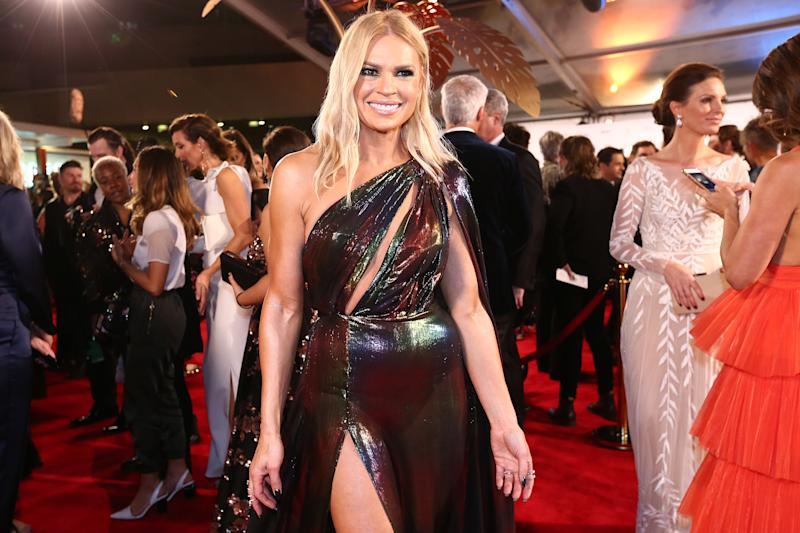 Sonia Kruger arrives at the 61st Annual TV WEEK Logie Awards at The Star Gold Coast on June 30, 2019 on the Gold Coast, Australia. (Photo by Jono Searle/Getty Images)