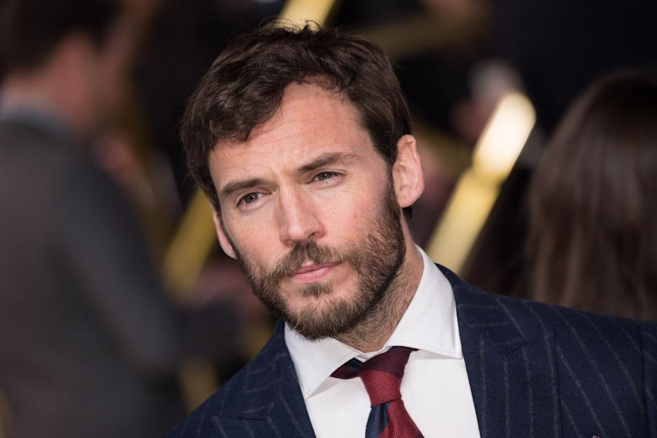 "LONDON, ENGLAND - NOVEMBER 20: Sam Claflin attends the ""Charlie's Angels"" UK Premiere at The Curzon Mayfair on November 20, 2019 in London, England. (Photo by Jeff Spicer/Getty Images)"