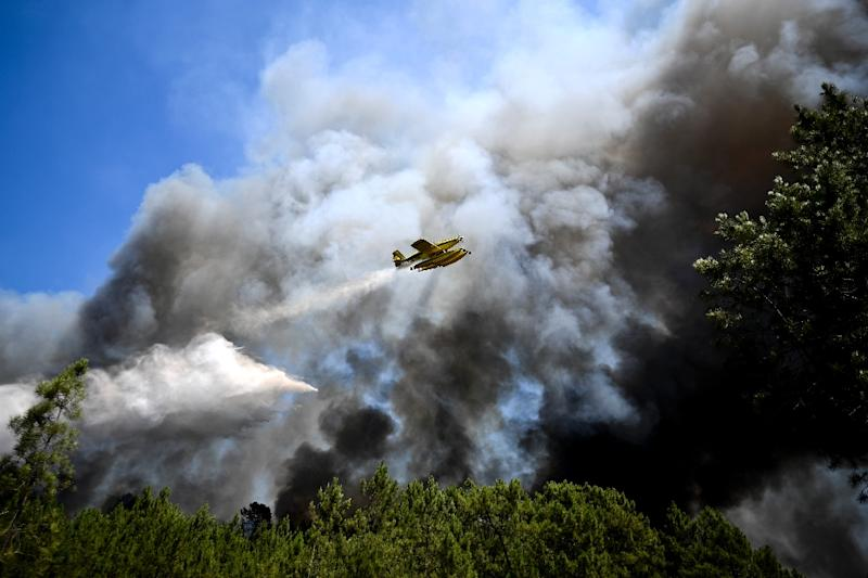 This year's forest fires have been the deadliest that Portugal has endured. (AFP Photo/PATRICIA DE MELO MOREIRA)