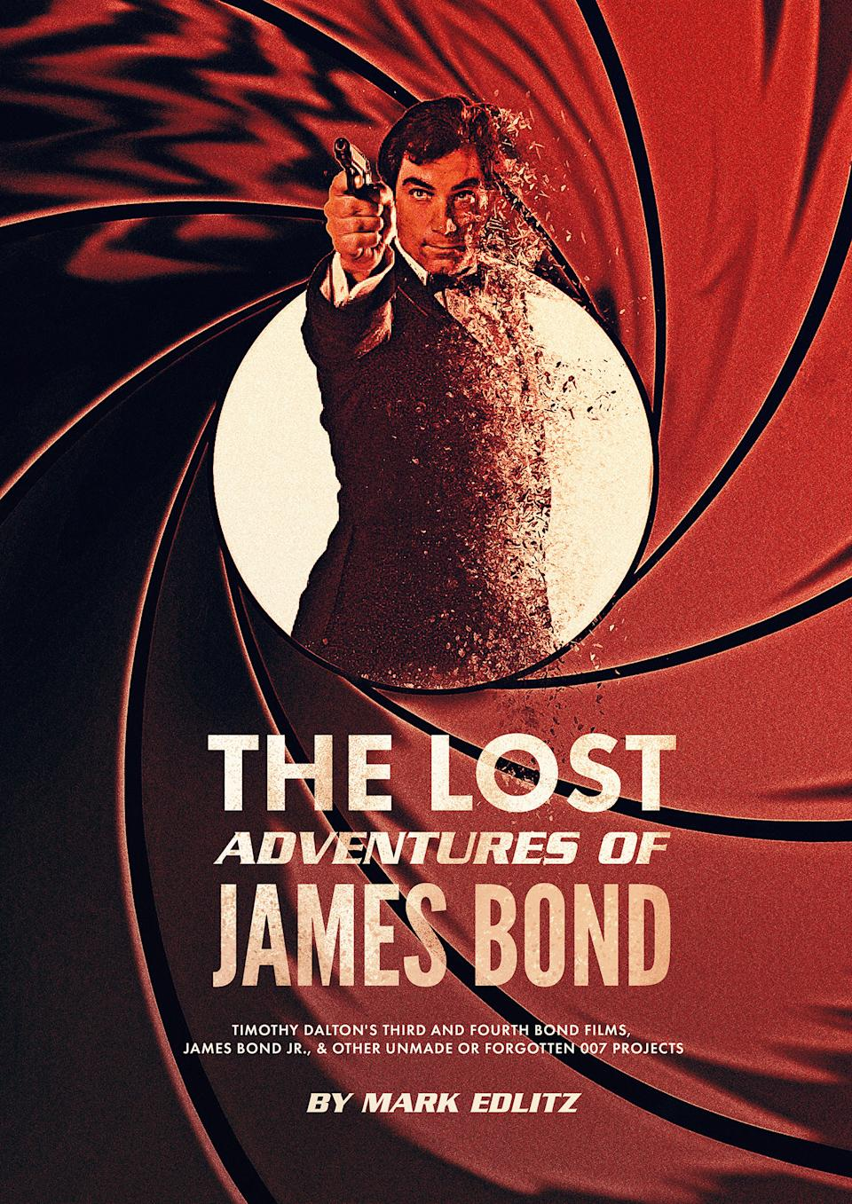 The cover for The Lost Adventures of James Bond.